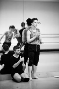 "Jonathan Campbell & Austin Diaz, MADBOOTS Dance, Choreographers of ""Swan Song"""
