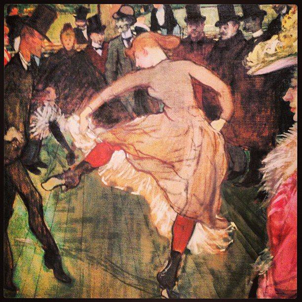 Art feeds art olivier wevers in philadelphia whim w 39 him for Toulouse lautrec works